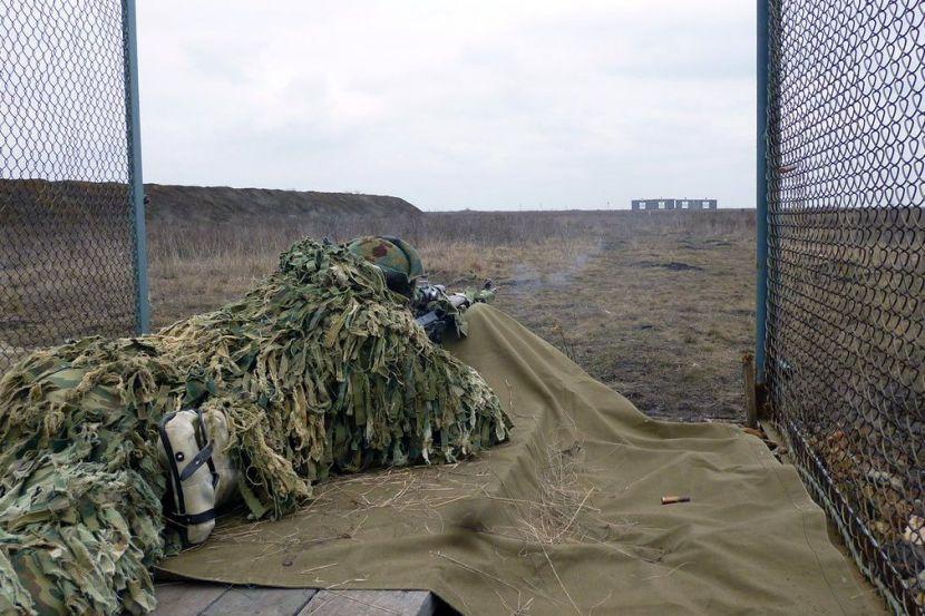 Russian serviceman in Transnistria