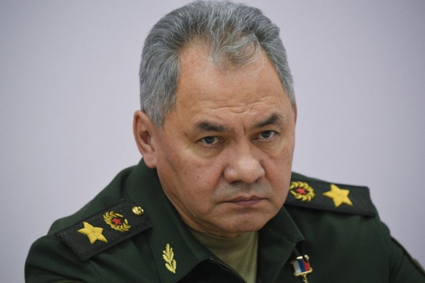 Minister of Defense of the Russian Federation Sergei Shoigu