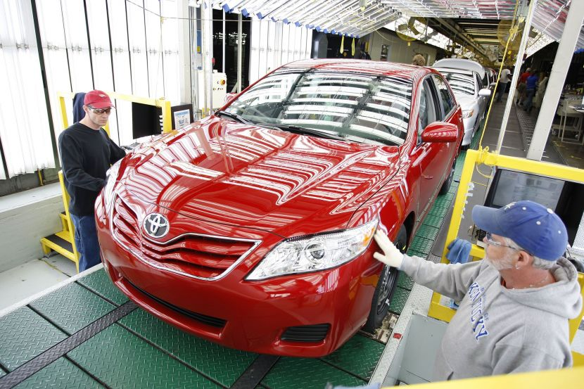 Toyota Motor Manufacturing Kentucky plant