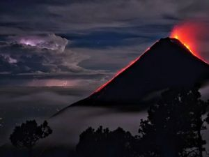 Eruption of Fuego Volcano Began in Guatemala